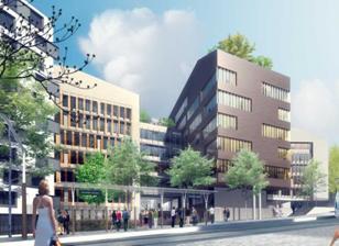Le rectorat de paris loue 15 200 m de bureaux hqe dans l for Immeuble bureaux hqe